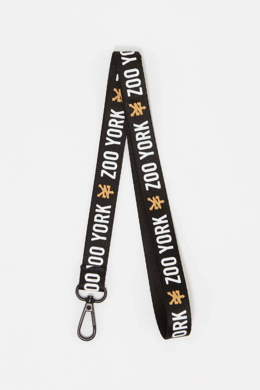 Zoo York Logo Lanyard Black