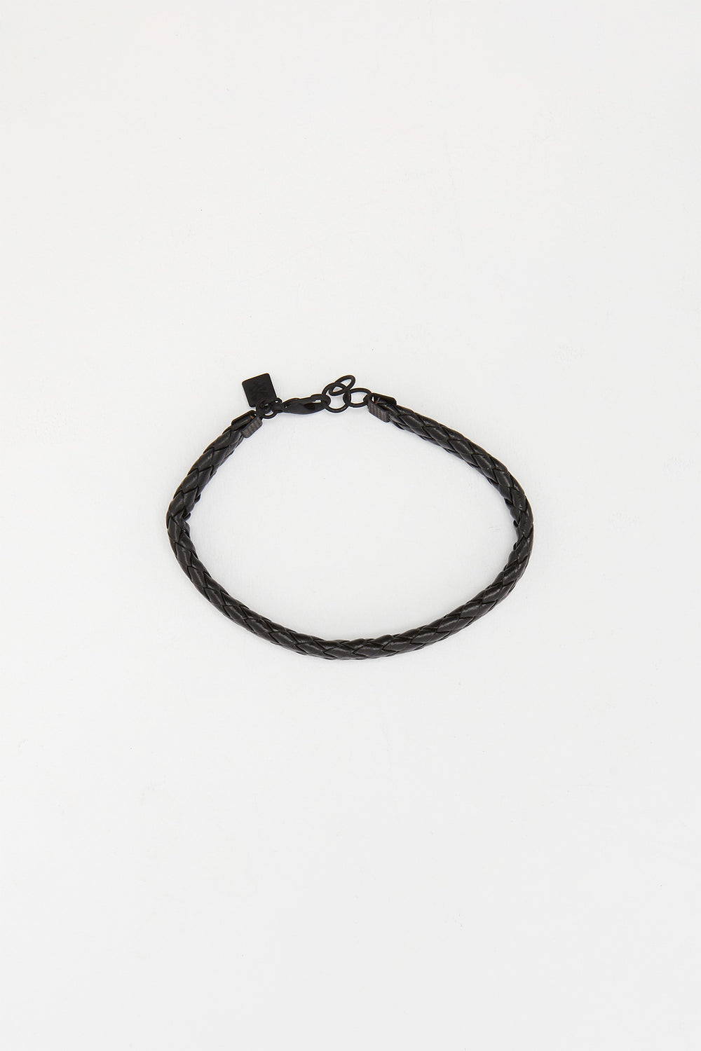 Zoo York Mens Black and Silver Bracelets Silver