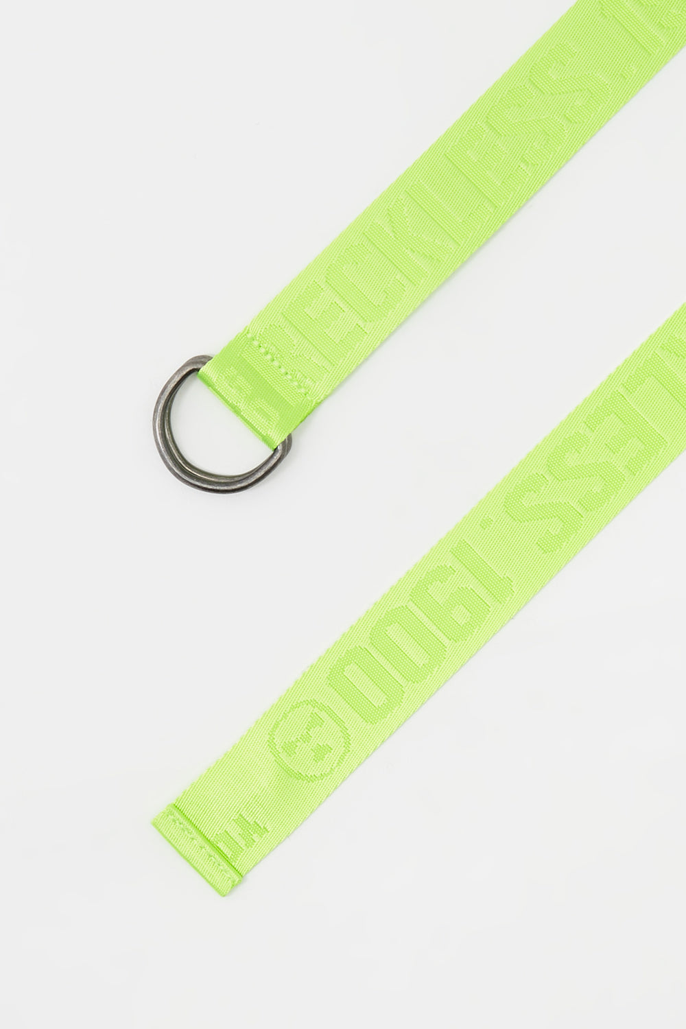 Young & Reckless Mens Neon Belt Green