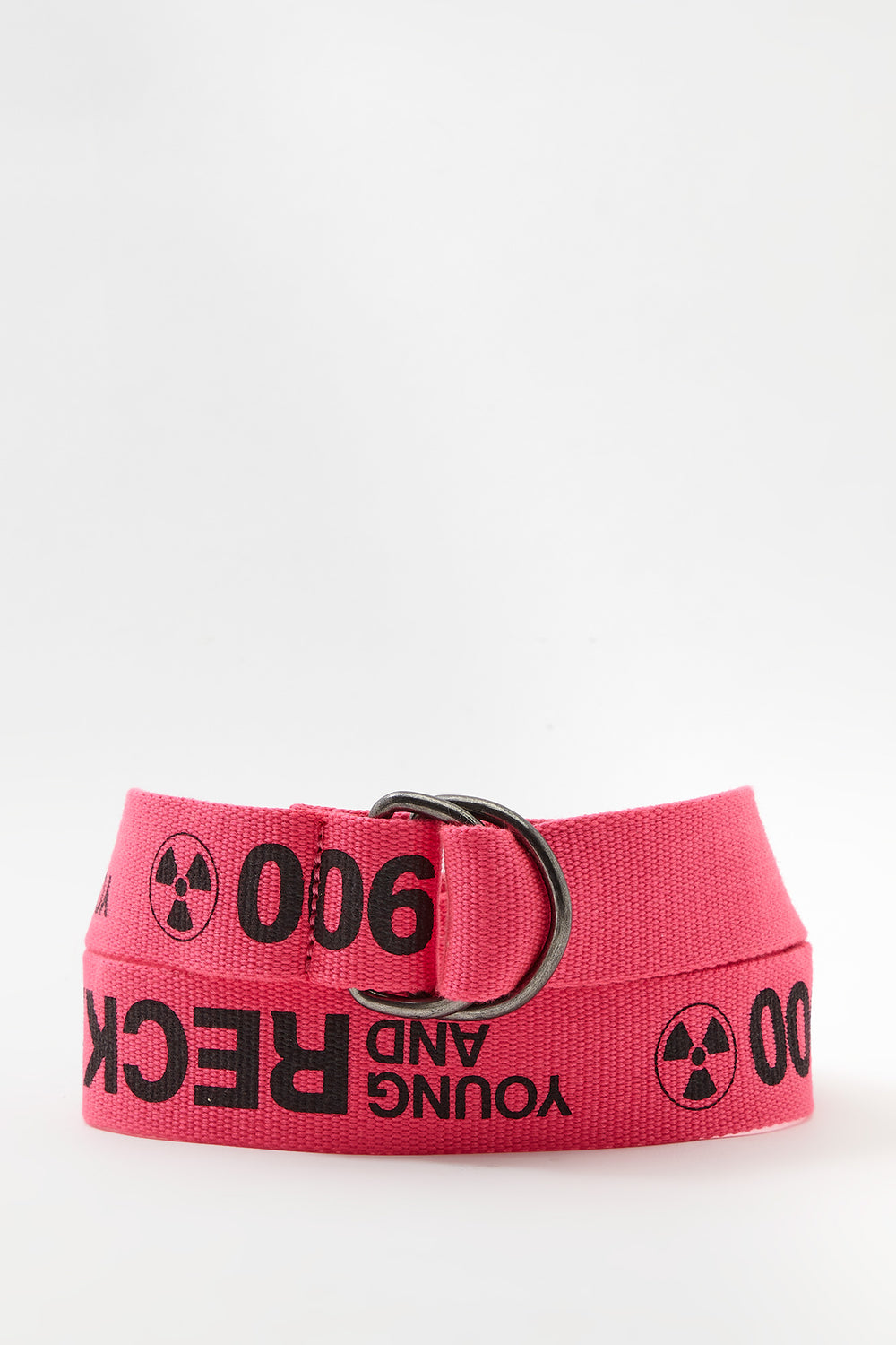 Young & Reckless Mens Neon Belt Pink