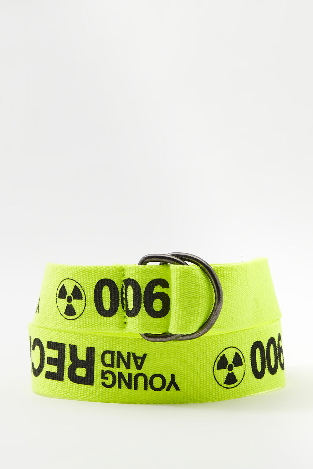Young & Reckless Mens Neon Belt Yellow