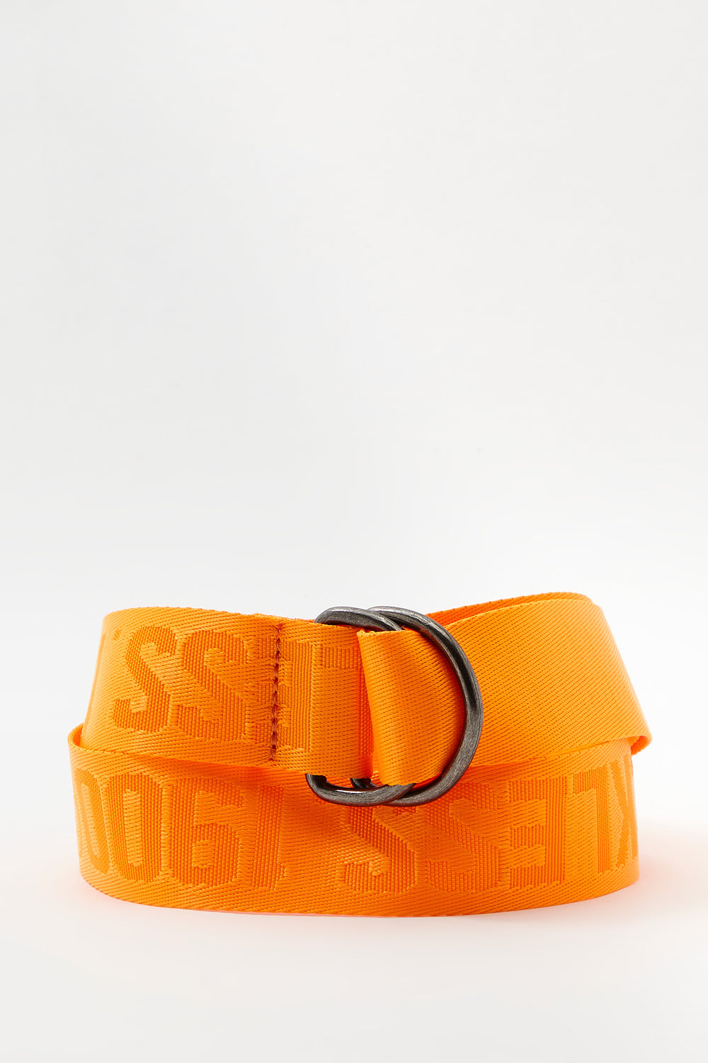 Ceinture Fluo Young & Reckless Homme Orange