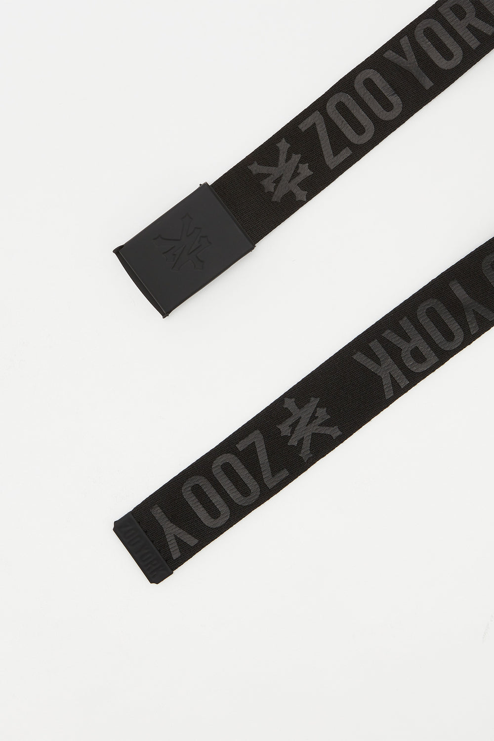 Zoo York Mens Black Cotton Belt Black