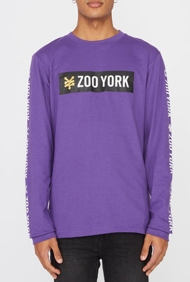 Zoo York Mens Classic Logo Long Sleeve Shirt