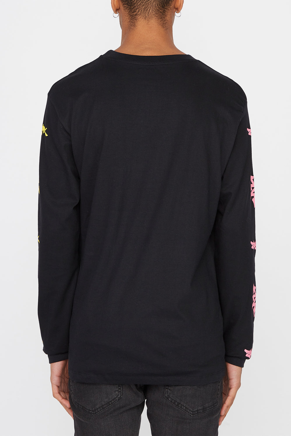 Zoo York Mens Practice Truth Long Sleeve Shirt Black