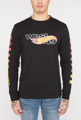 Manches Longues Hot Wheels X West49 Homme