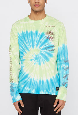 Young & Reckless Mens Tie-Dye Long Sleeve