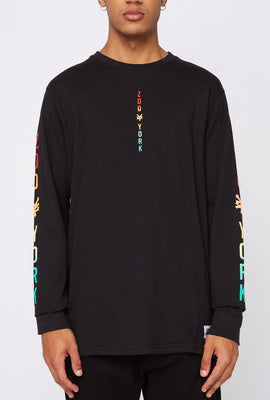 Zoo York Mens Gradient Logo Long Sleeve Shirt