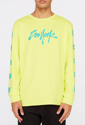 Zoo York Mens NYC Boroughs Long Sleeve Shirt
