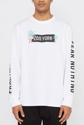Zoo York Mens Flamingo Long Sleeve