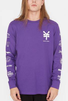 Zoo York Mens Various Logos Long Sleeve