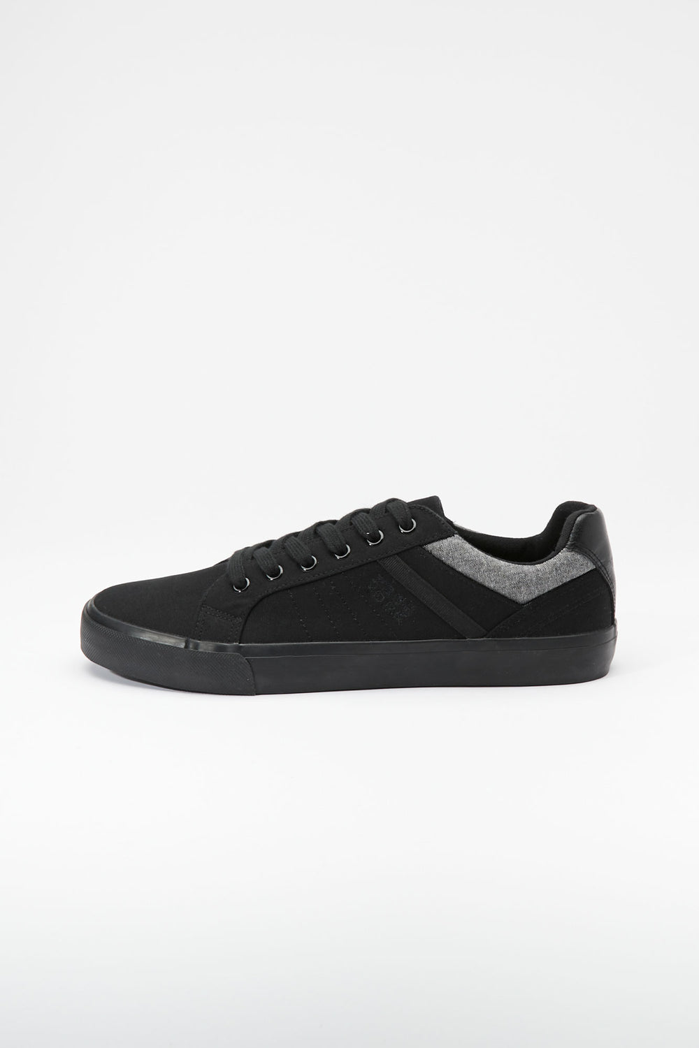 Zoo York Mens Black Leon Shoes Black with White