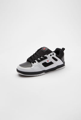 Zoo York Mens White Carter Shoes