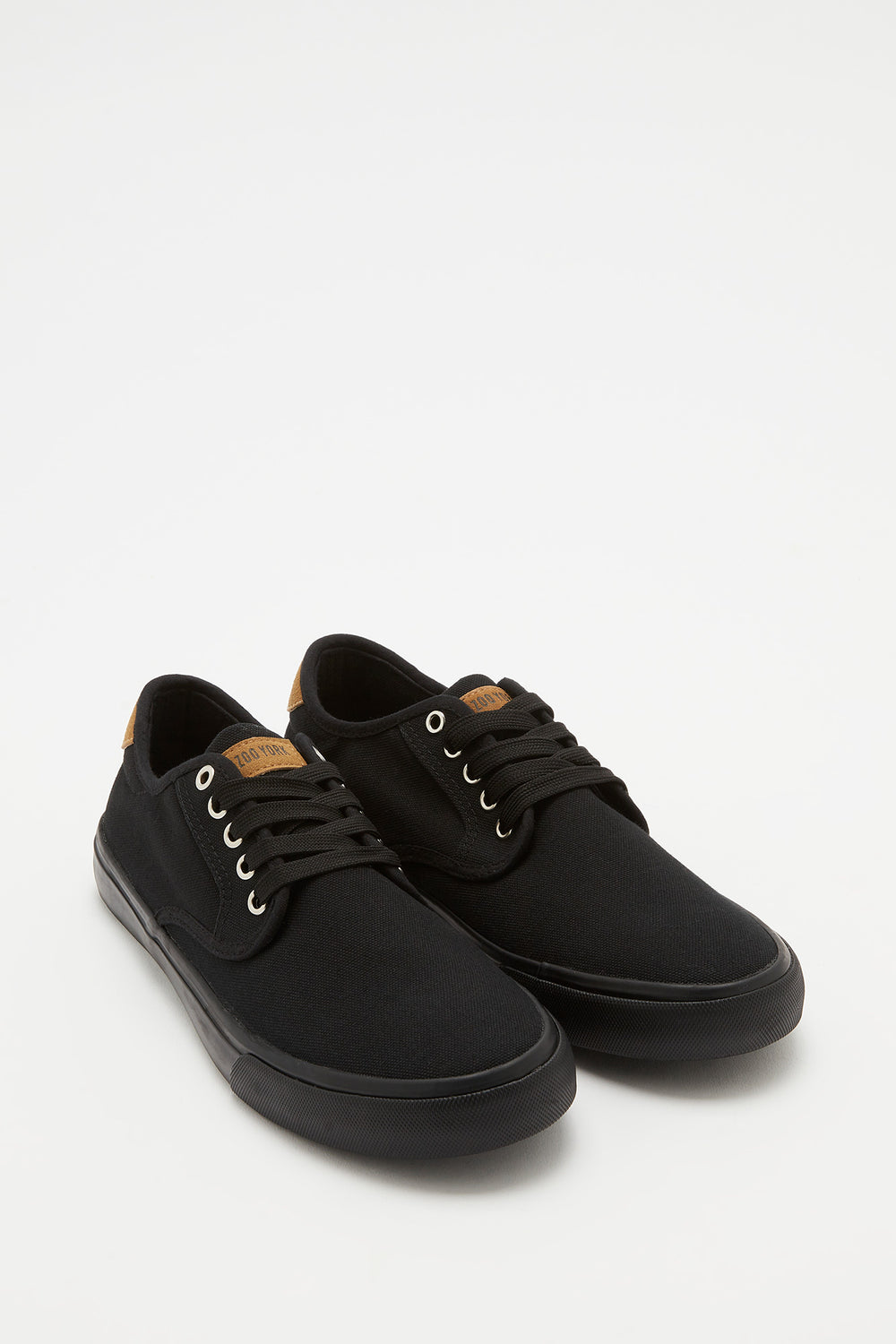 Zoo York Mens Canvas Skate Shoes Black