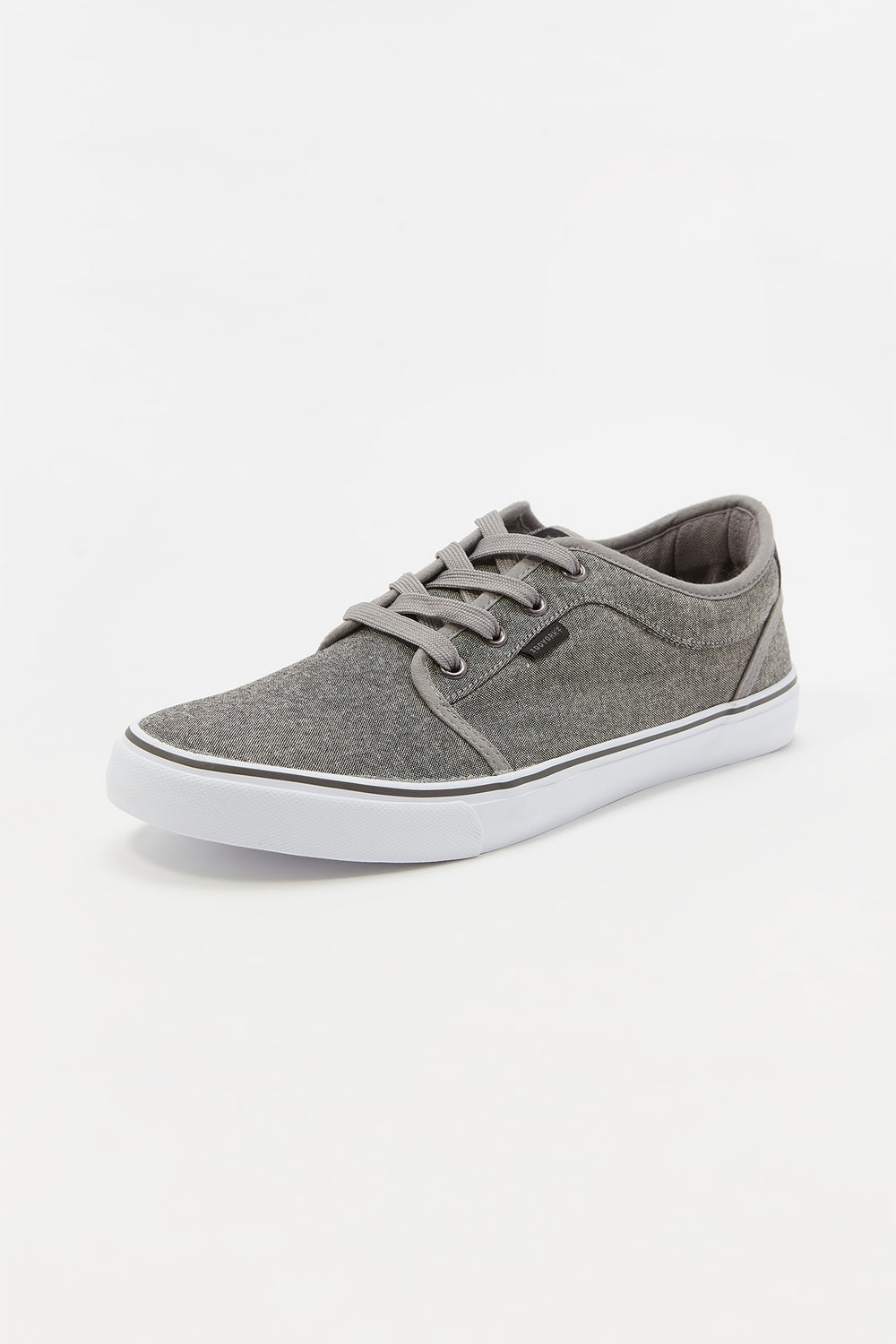 Zoo York Mens Canvas Skate Shoes Heather Grey