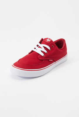 Zoo York Mens Red Ryan Canvas Skate Shoes
