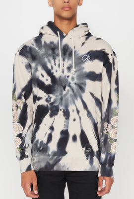 Young & Reckless Mens World Tour Tie-Dye Hoodie