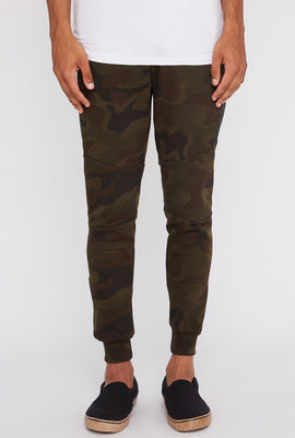 Zoo York Mens Camo Side Zipper Jogger