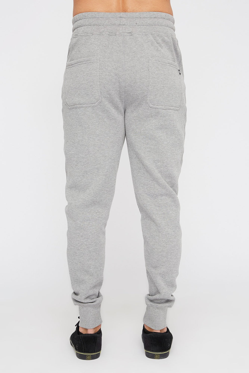 West49 Mens Solid Zip-Up Jogger Heather Grey