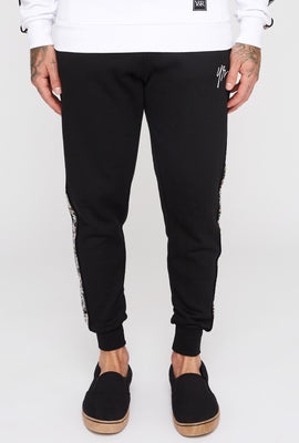 Pantalon Jogger Bandes Camouflage Young & Reckless Homme