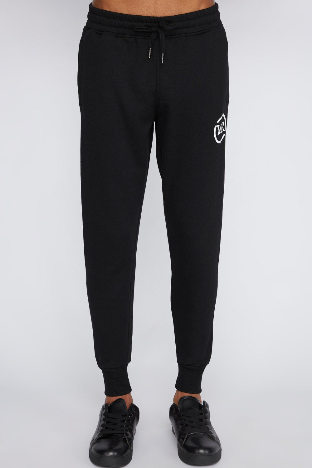 Young & Reckless Mens Solid Jogger Black
