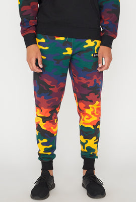 Jogger Camouflage Multicolore Zoo York Homme