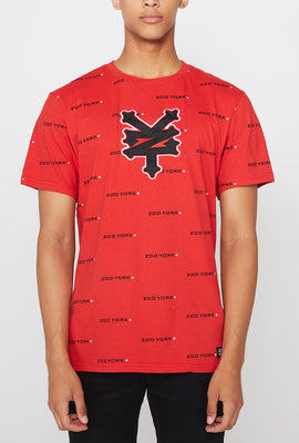 Zoo York Mens Patch Logo T-Shirt