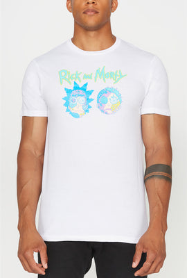 Rick & Morty Cyborg Face Mens T-Shirt