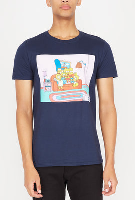 T-Shirt Couch Potato Simpsons Homme