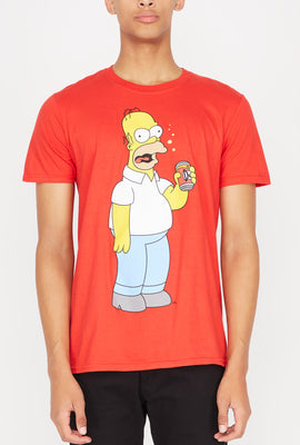 Mens Homer Duff Beer T-Shirt