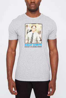 T-Shirt Dwight Shrute The Office Homme