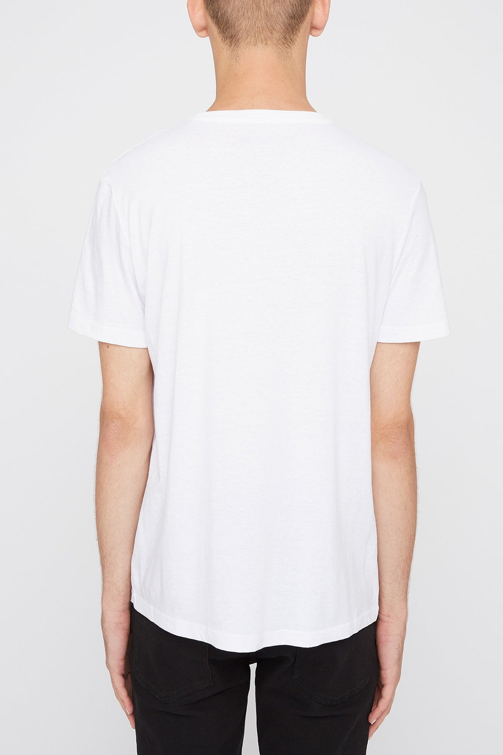 T-Shirt Snoopy Homme Blanc