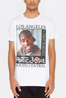 Mens Poetic Justice Graphic T-Shirt