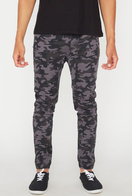 Jogger 5 Poches Camouflage Zoo York Mens