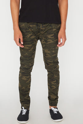 Jogger Camouflage Moto West49 Homme