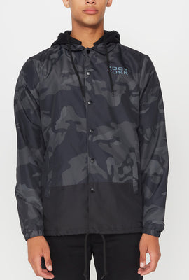 Zoo York Mens Two Tone Jacket