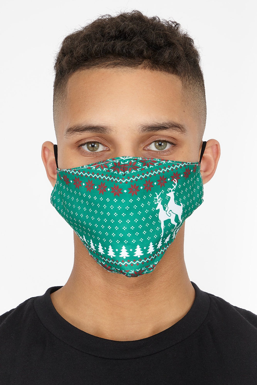 West49 Holiday Face Mask (2-pack) Green