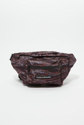 Sac Banane Camouflage Tigré Young & Reckless
