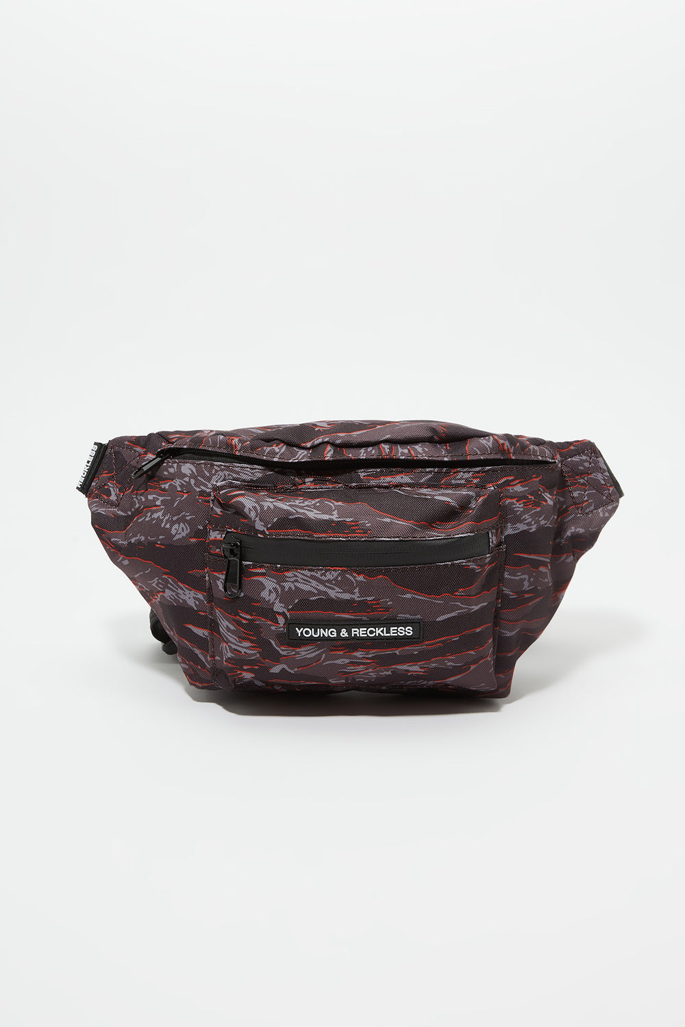 Sac Banane Camouflage Tigré Young & Reckless Carreaux