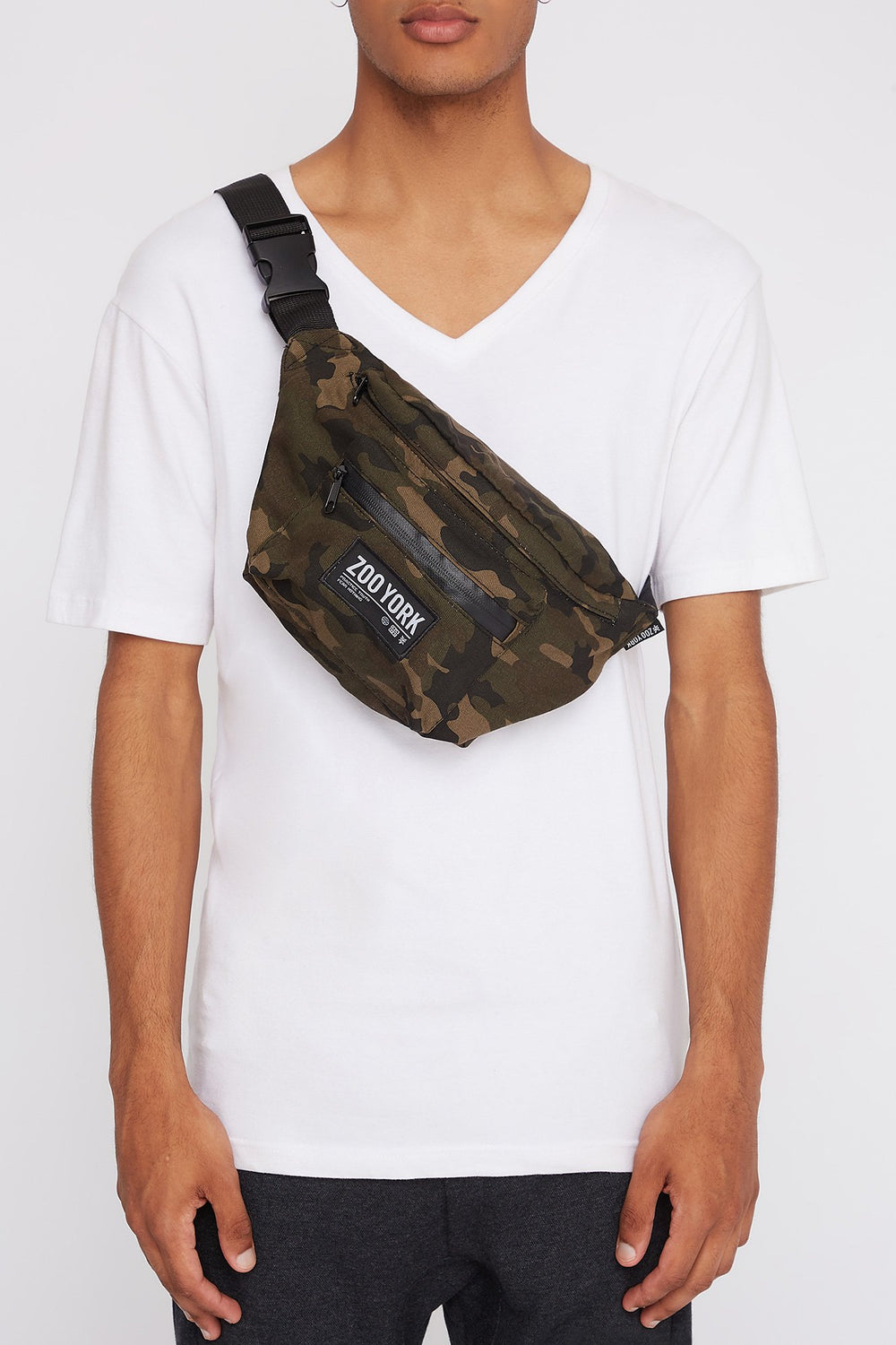 Zoo York Camo Fanny Pack Camouflage