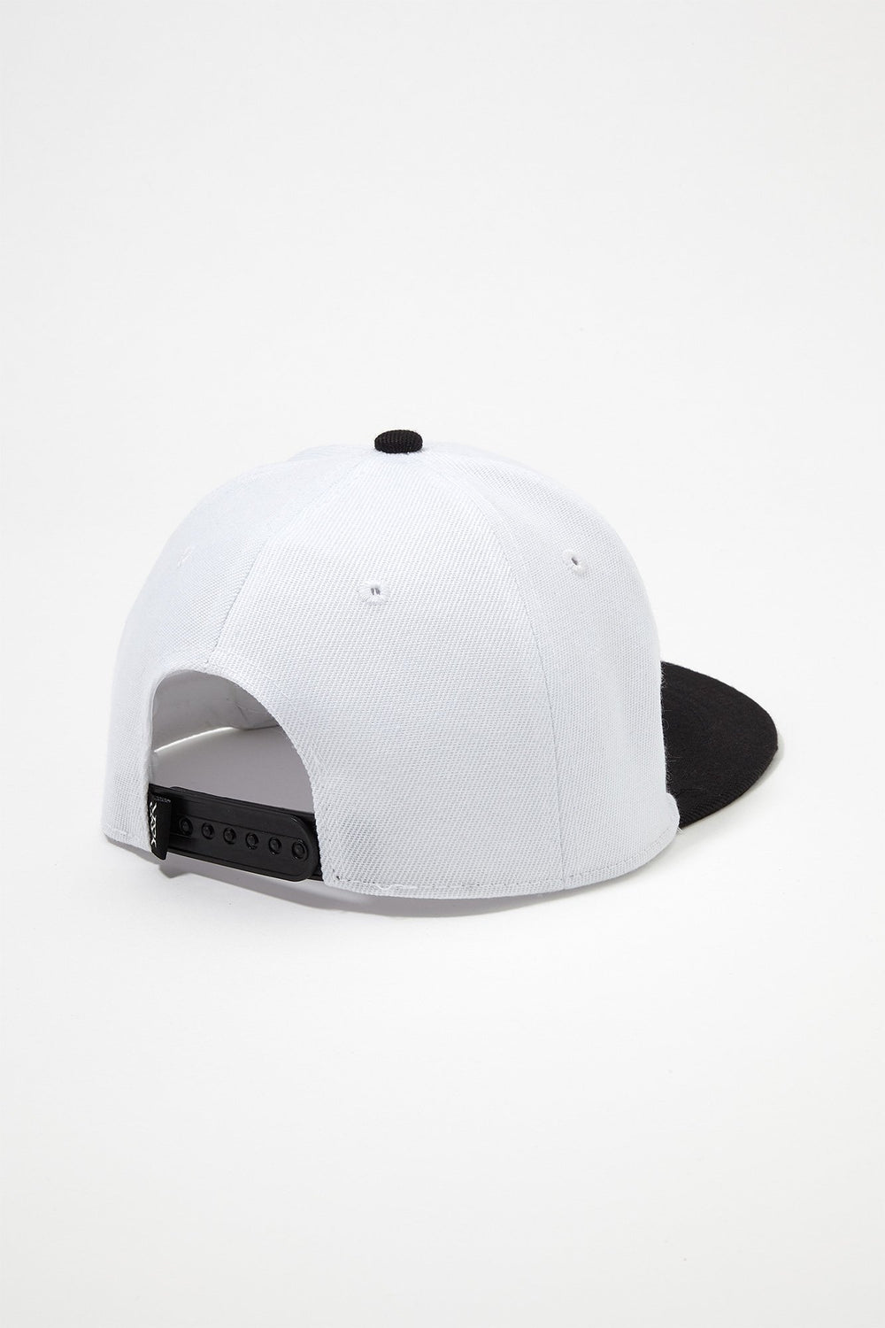 Young & Reckless Mens Red Box Logo Snapback Hat White