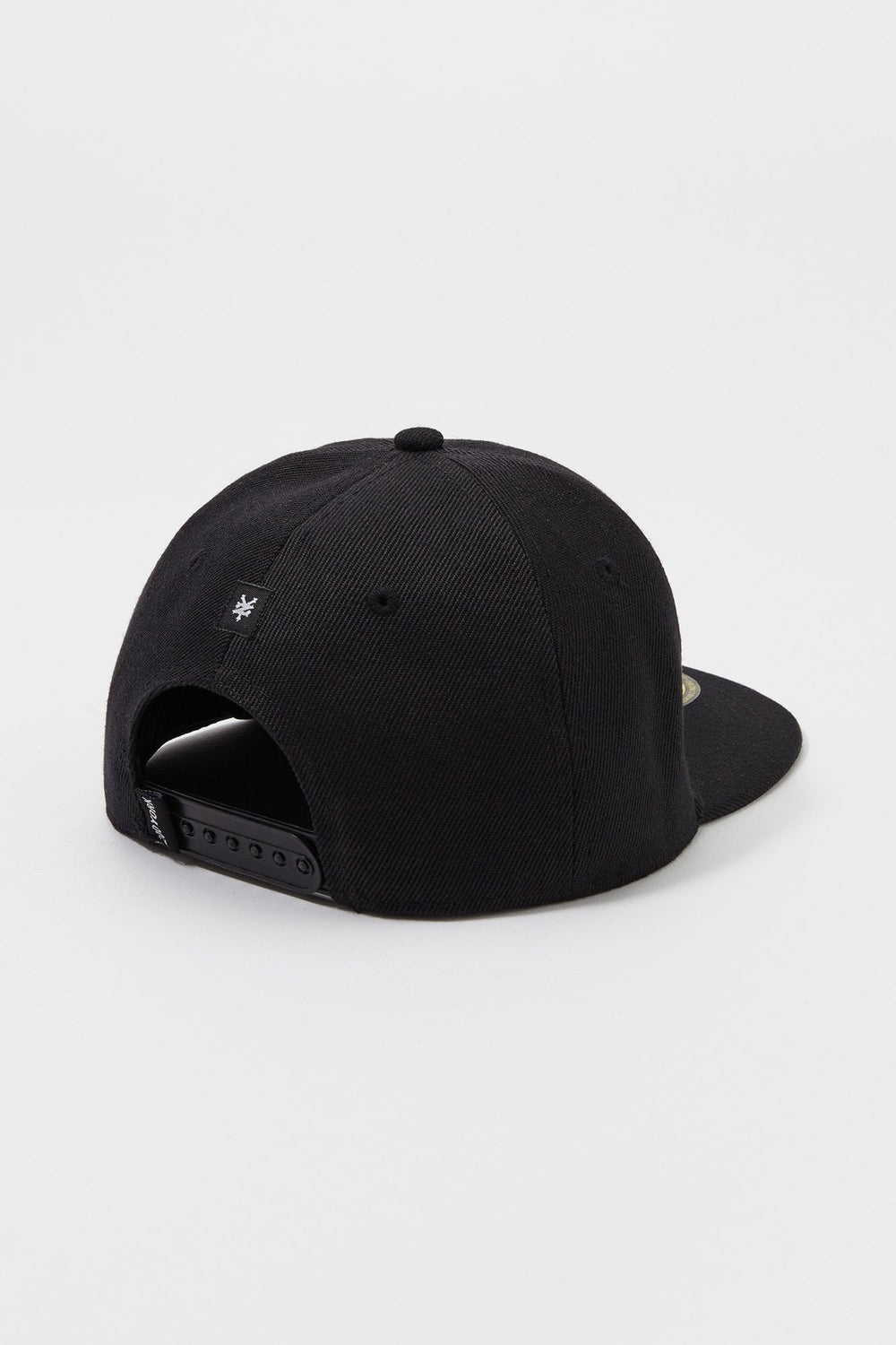 Zoo York Mens Box Logo Snapback Hat Black