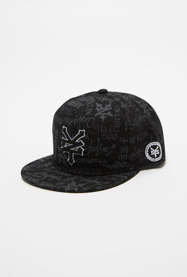Zoo York Mens Graffiti Snapback