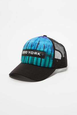 Zoo York Mens Tie Dye Trucker Hat