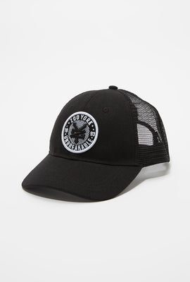 Zoo York Mens Circle Logo Trucker Hat