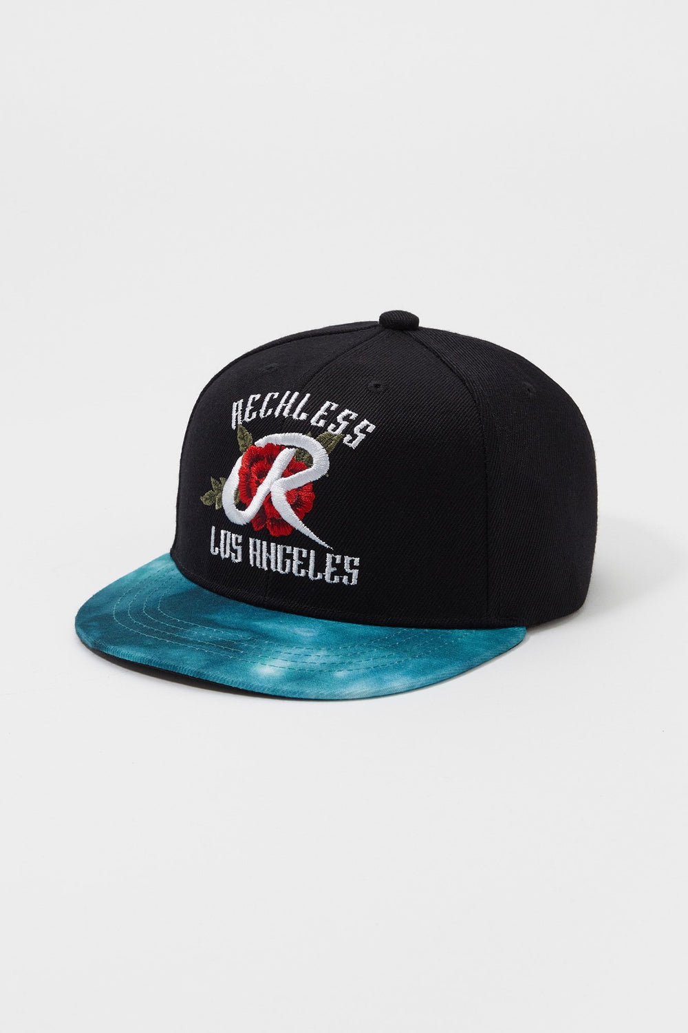 Young & Reckless Mens Tie-Dye Brim Hat Black