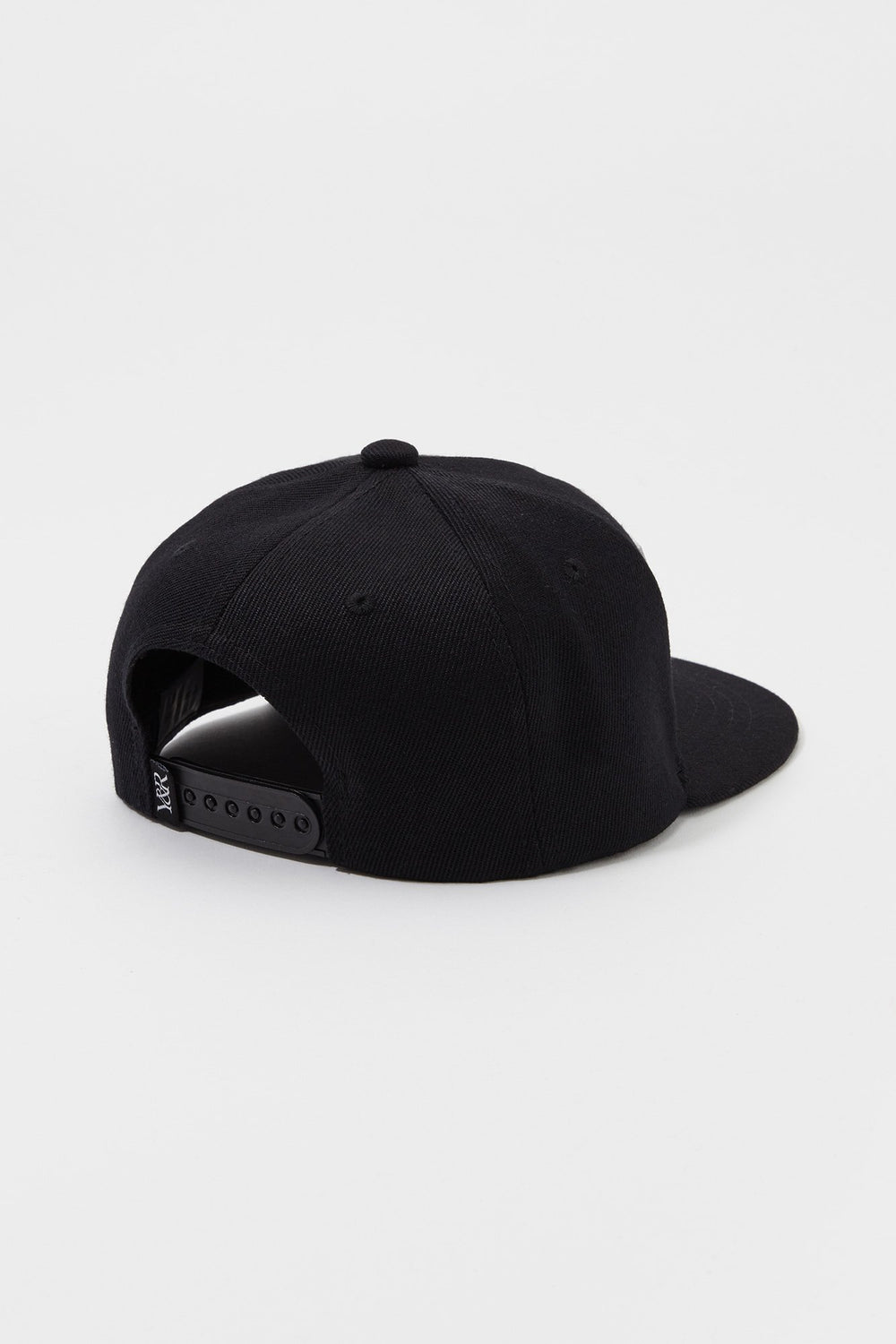 Young & Reckless Mens Strike-Through Logo Hat Black