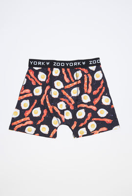 Zoo York Mens Bacon & Eggs Boxer Brief