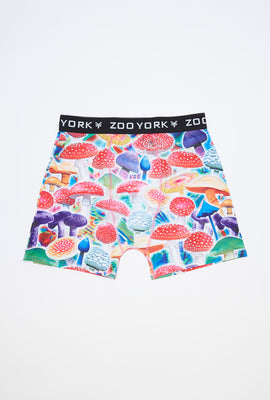 Zoo York Mens Colourful Mushrooms Boxer Brief