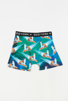 Boxer Chat Pizza Zoo York Homme